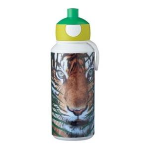 Mepal Drinkfles pop-up Campus 400 ml - Animal Planet Tijger