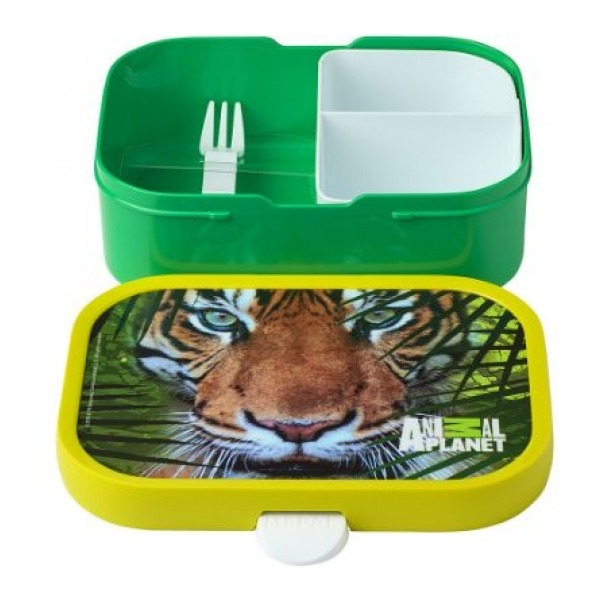 Mepal Lunchbox Campus - Animal Planet Tijger