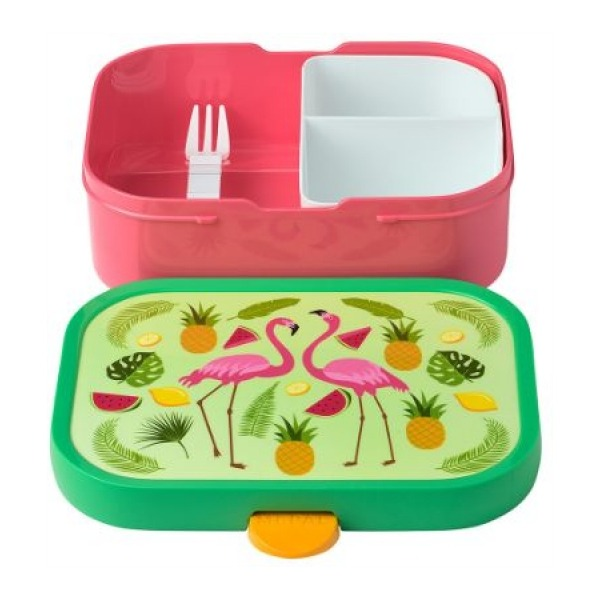 Mepal Lunchbox Campus - Tropical Flamingo
