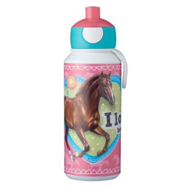Mepal Drinkfles pop-up Campus 400 ml - My Horse