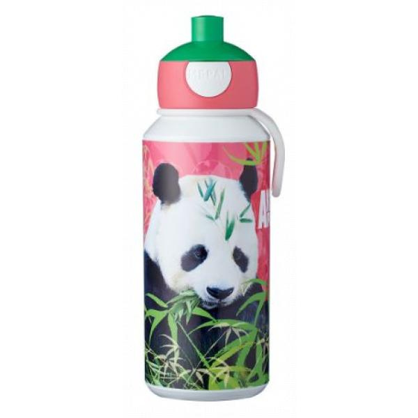 Mepal Drinkfles pop-up Campus 400 ml - Animal Planet Panda