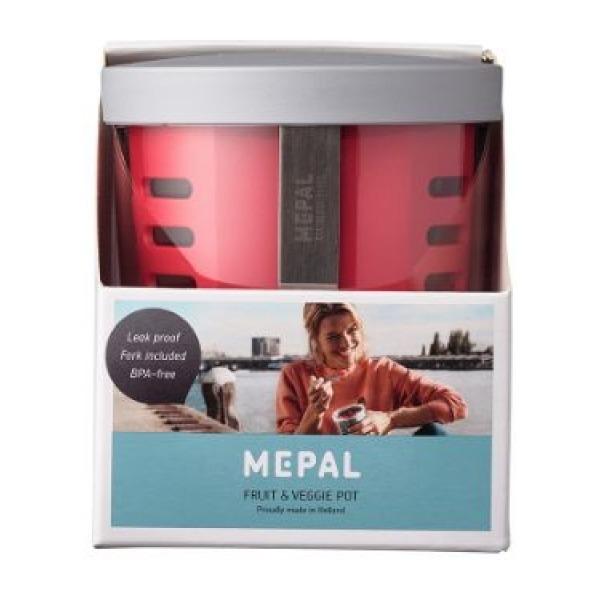 Mepal Fruit- & Veggiepot Ellipse - Nordic red