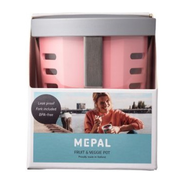 Mepal Fruit- & Veggiepot Ellipse - Nordic pink