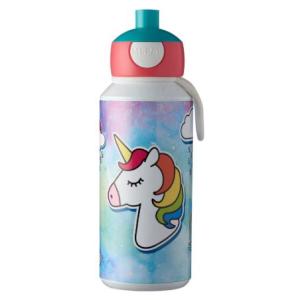 Mepal Drinkfles pop-up Campus 400 ml - Unicorn