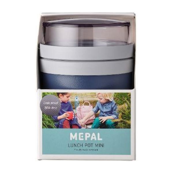 Mepal Lunchpot Ellipse mini - Nordic denim