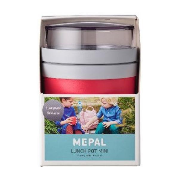 Mepal Lunchpot Ellipse mini - Nordic red