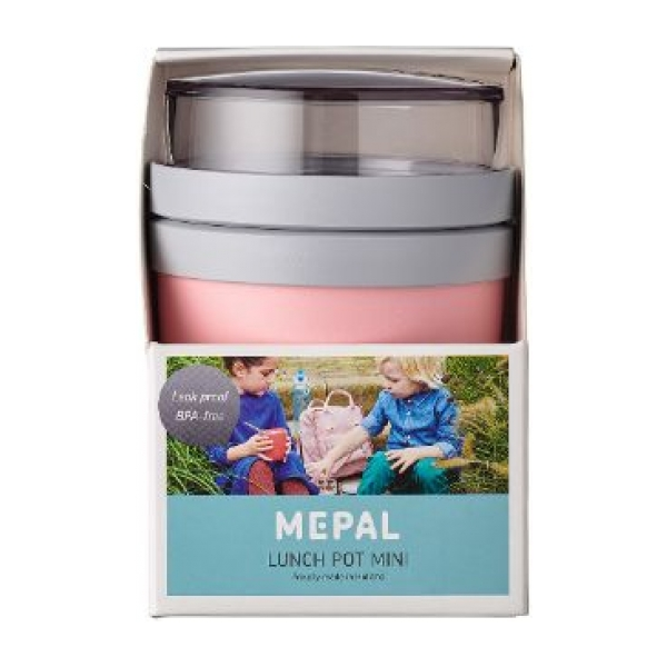 Mepal Lunchpot Ellipse mini - Nordic pink