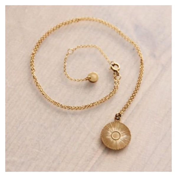Bazou Fine stainless steel chain with round fantasy charm