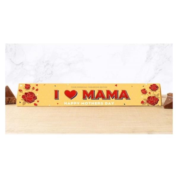 Toblerone chocoladereep I Love Mama