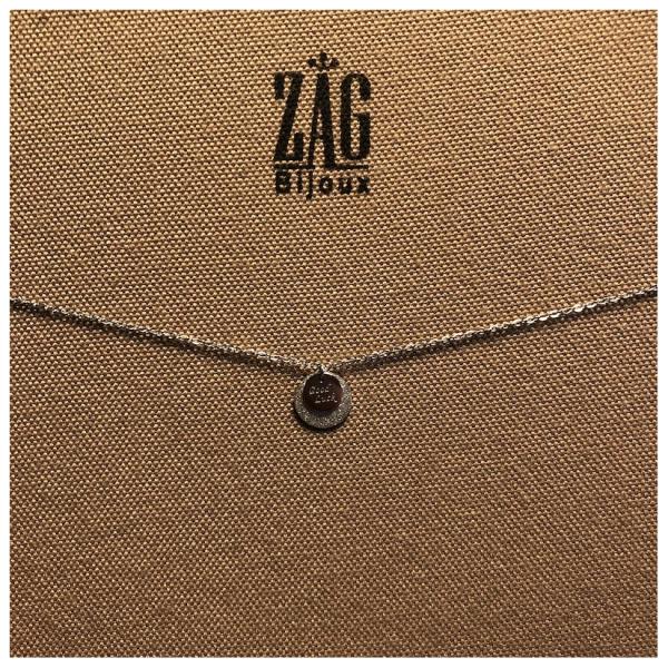 ZAG Bijoux Ketting Good Luck Bedel Zilver