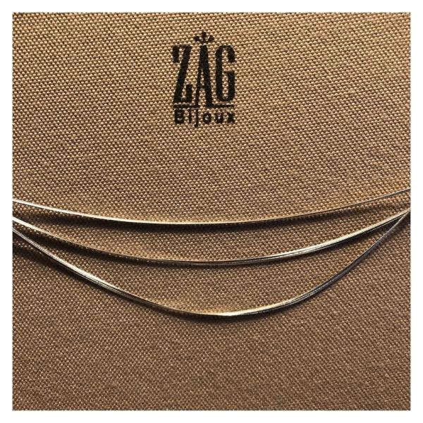 ZAG Bijoux Ketting Drie Dubbel Zillver