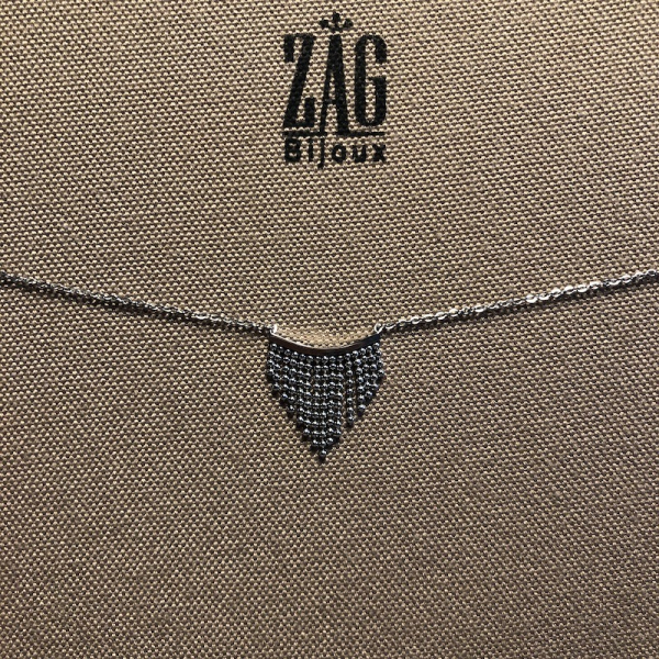 ZAG Bijoux Ketting Bohemian Wave Zilver