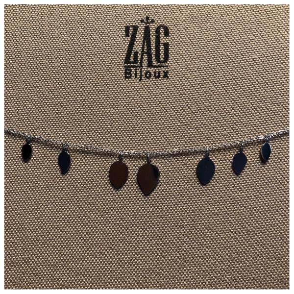 ZAG Bijoux Ketting Druppels Zilver