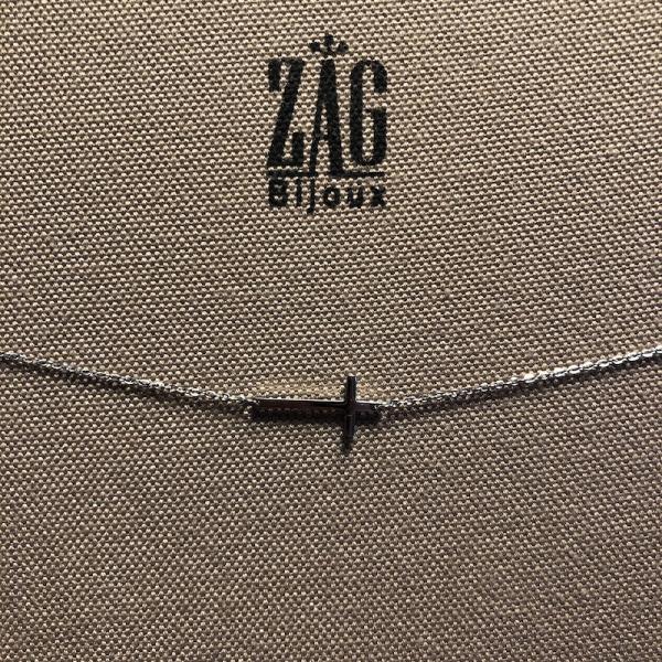 ZAG Bijoux Ketting Kruisje Zilver