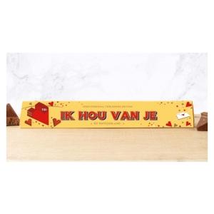 Toblerone chocoladereep Ik Hou Van Je