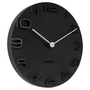 Karlsson Wall clock On The Edge black KA5311BK