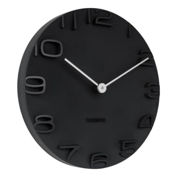 Karlsson Wall clock On The Edge black KA5311BK