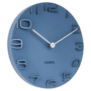 Karlsson Wall clock On The Edge blue KA5311BL