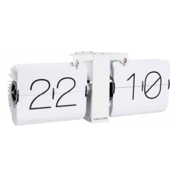 Karlsson Flip Clock No Case White KA5602WH