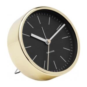 Karlsson Alarm Clock Minimal Black KA5683BK