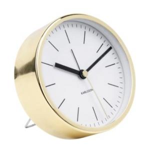 Karlsson Alarm Clock Minimal White KA5683WH