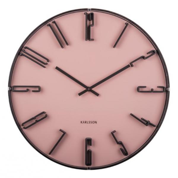 Karlsson Wall clock Sentient Faded Pink KA5703PI