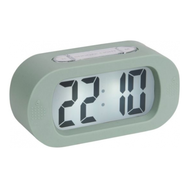 Karlsson Alarm clock Gummy green KA5753GR