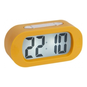 Karlsson Alarm clock Gummy ochre yellow KA5753YE
