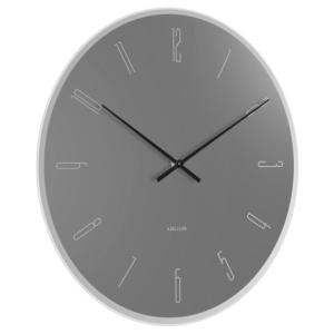 Karlsson Wall clock Mirror GreyNumbers KA5800GY