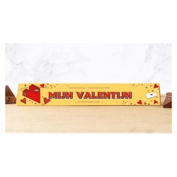 Toblerone chocoladereep Mijn Valentijn