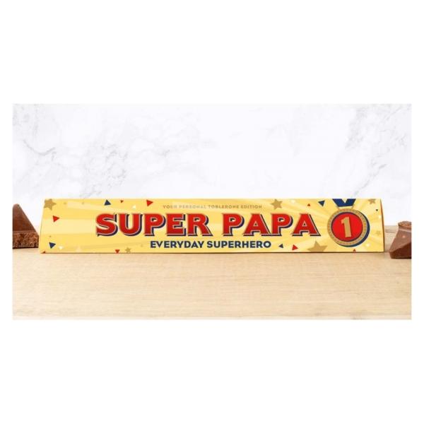 Toblerone chocoladereep Super Papa