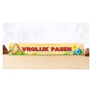 Toblerone chocoladereep Vrolijk Pasen