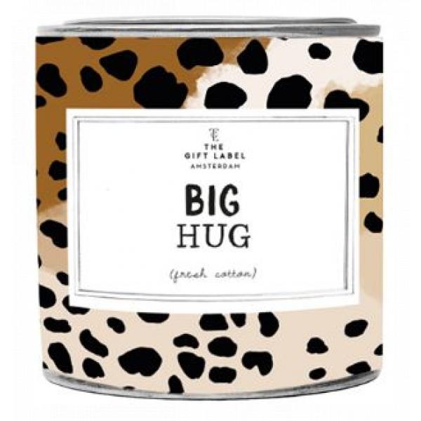 The Gift Label Geurkaars in blik - Big Hug