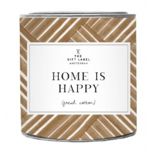 The Gift Label Geurkaars in blik - Home is Happy