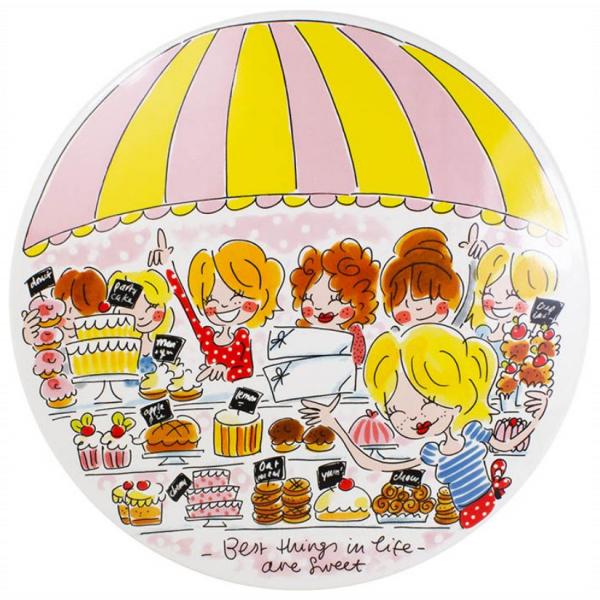 Blond Amsterdam CAKEPLATE