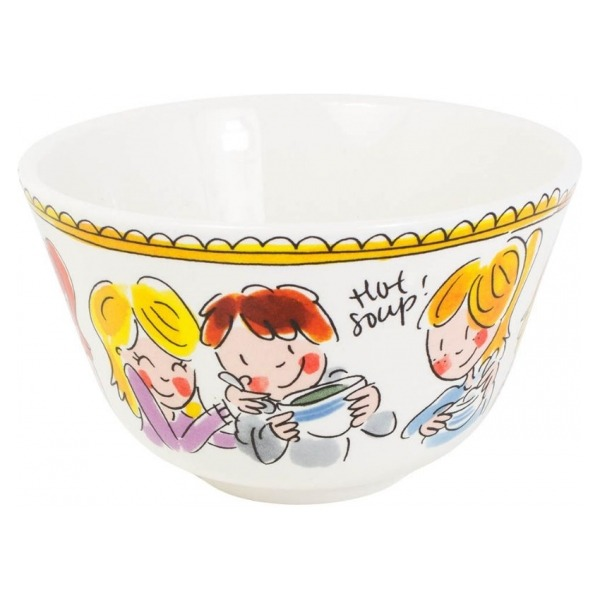 Blond Amsterdam BOWL 14 CM RED TEXT