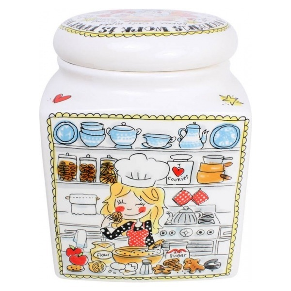 Blond Amsterdam STORAGE JAR SQUARE