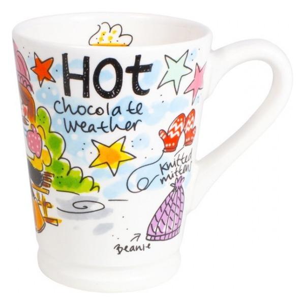 Blond Amsterdam CHOCOLATE: SET MAZAGRAN HOT CHOC. BLAUW