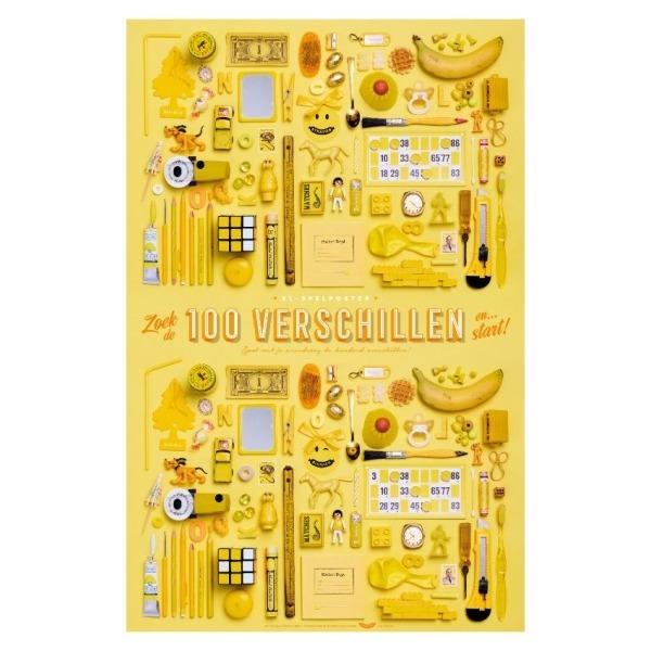 XL-Spelposter 100 verschillen