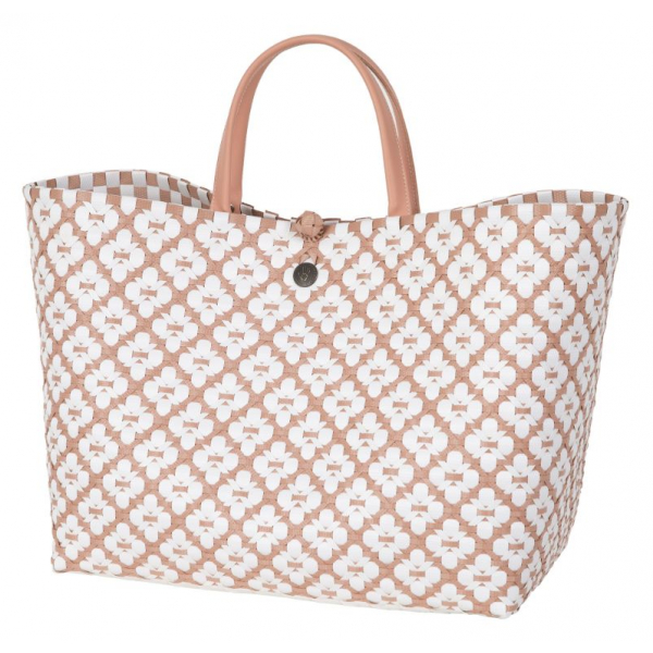 Handed By Motif Bag Copper Blush