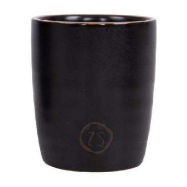 Zusss espresso kopje aardewerk zwart