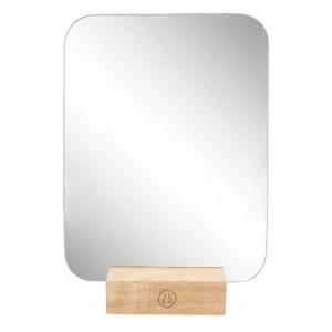 Zusss spiegel op houten voet 18x23cm
