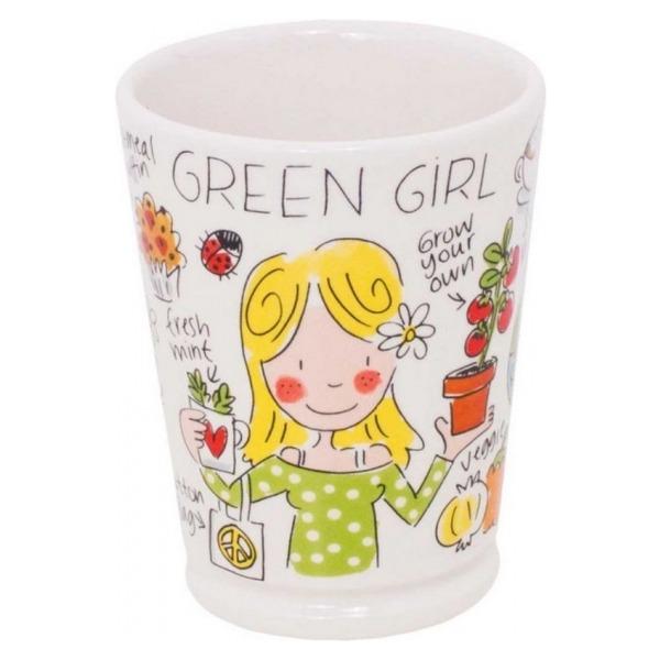 Blond Amsterdam Beker XL Green girl 0,5L