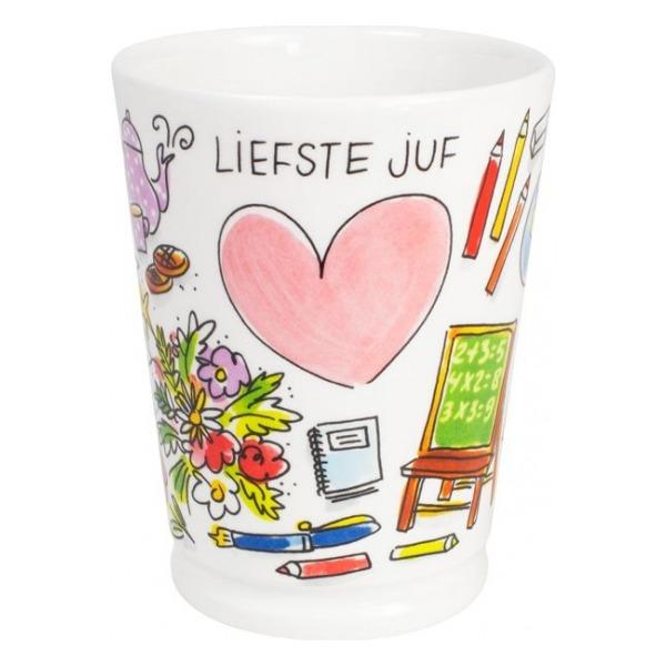 Blond Amsterdam Beker XL Juf 0,5L nieuw
