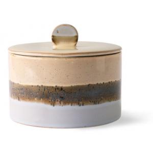 HKliving Ceramic 70's Cookie jar lake