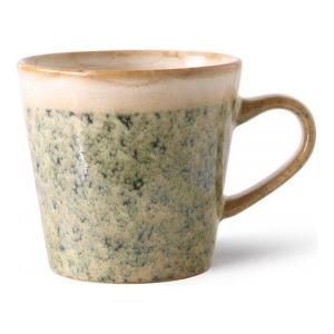 HKliving Ceramic 70's Americano mug hail