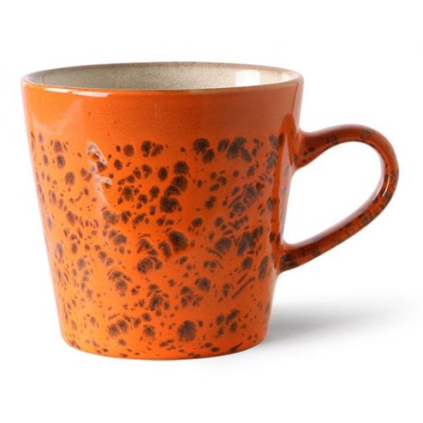 HKliving Ceramic 70's Americano mug magma
