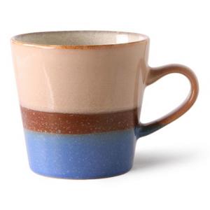 HKliving Ceramic 70's Americano mug sky