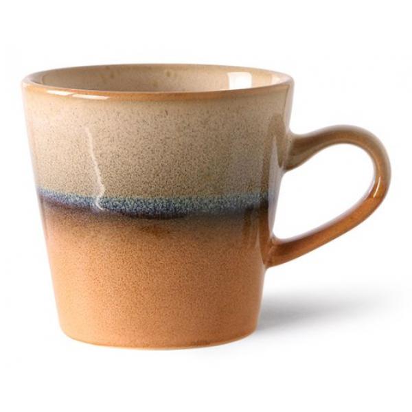 HKliving Ceramic 70's Americano mug tornado