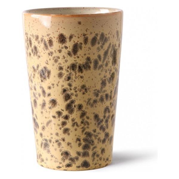 HKliving Ceramic 70's Tea mug tiger